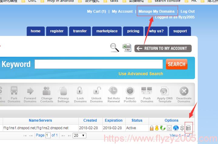 《NameSilo域名购买与DNS解析》